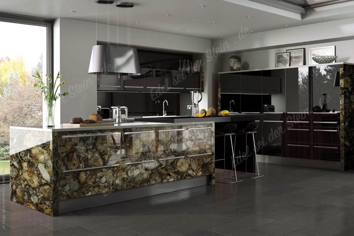 Küchen - Bilderkollektion von Applikationen mit Edelsteinen